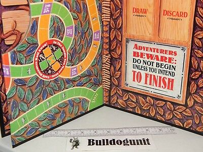 1995 Jumanji the Game Board Game Replacement Game Board Only Milton Bradley