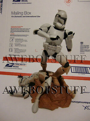 Star Wars Unleashed Clone Trooper Complete 2004 Action Figure Loose
