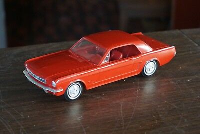 Old 1965 Ford Mustang Promo In Red