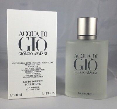 Acqua Di Gio By Giorgio Armani 3.4 oz/100ml EDT Men Cologne Spray.*New TST Box*