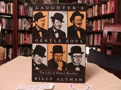 Hollywood WIT Robert Benchley BIOGRAPHY Laughter's Gentle Soul w/Pix DJ1stHB