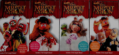 Best Of The Muppet Show Vhs Lot Of (8) Time Life Kermit The Frog Jim Henson