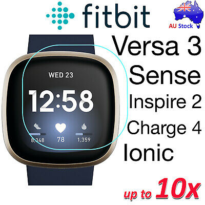 Premium Ultra Clear Screen Protector Film for Fitbit Ionic and Fitbit Versa