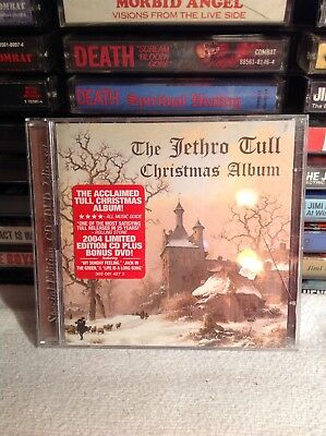 The Jethro Tull Christmas Album Cd 2 Disc Set Rare Oop 2003 Fuel 2000