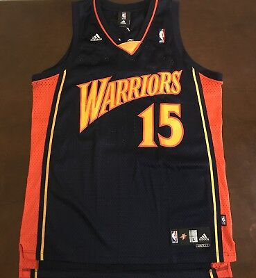 eb4b3ae6b5b Rare Vintage Adidas NBA Golden State Warriors Andris Biedrins Basketball  Jersey