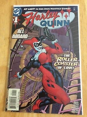 HARLEY QUINN First Series #1 (2000) NM - High Grade (CGC Worthy!)