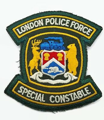 London Police Force Special Constable Canada Patch