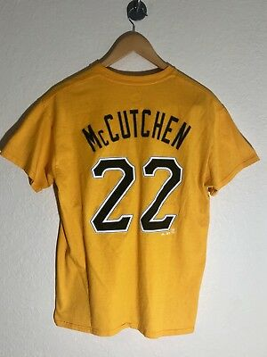 official photos 5f08e 849cc ANDREW MCCUTCHEN PITTSBURGH Pirates Women's Jersey Tee - NWT ...
