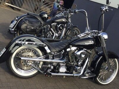 harley davidson Fatboy EVO Umbau chicano style mexican style...Top...