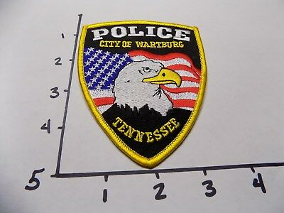 Wartburg Tennessee Police patch TN
