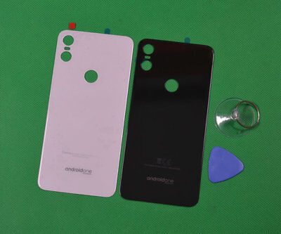 New Real Glass Battery Back Cover Door For Motorola Moto One P30 Play XT1941