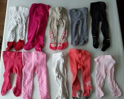 Lot de 10 paires de collant 15/16 et 17/18