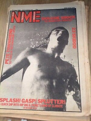 NME: Pete Townsend, Siouxsie, Rig Rig & Panic - 12th June 1982