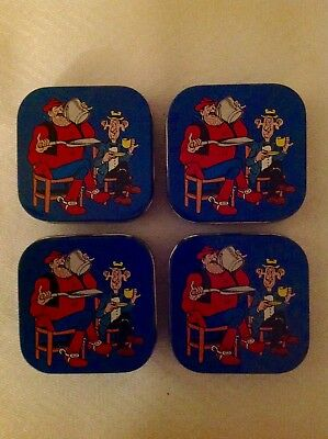 The Dandy Desperate Dan Stationary Tins X4 (1989)