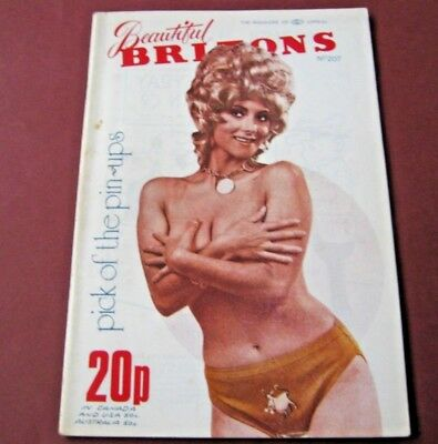 Beautiful Britons No. 207 - vintage glamour. Toco, Feb 1973