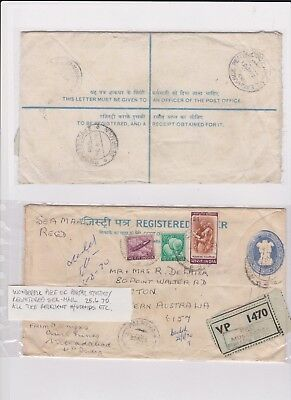 INDIA VERY OLD STAMP COVER grandpa special C