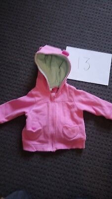 Baby Girls Jackets X3 3-6 Months LOT 13