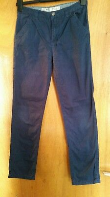 Boys Navy Trousers Age 11/12 Years