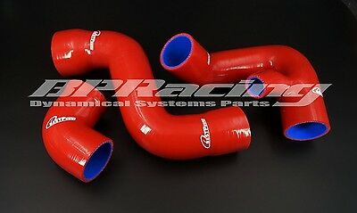 Silicone Turbo Intake Hose For 02 03 04 05 Audi A4 B6 VW Passat B6 1.8T RED
