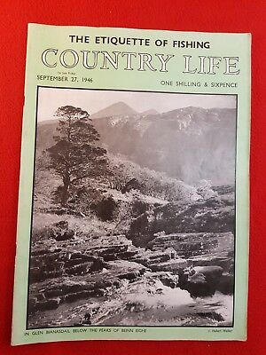 COUNTRY LIFE Magazine : 27th September 1946