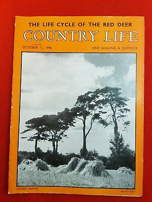 COUNTRY LIFE Magazine : 11th October 1946