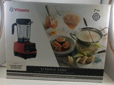 NEW _Vitamix 5300 Blender .  - Red FAST SHIPPING!