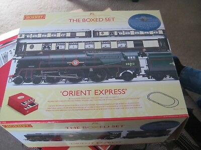 Orient Express Hornby R1038 Train Set, Box opened but contents sealed