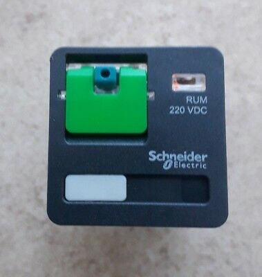 Schneider Electric 11 Pin  Relay 2CO 10A 220VDC MPN: RUMC312MD
