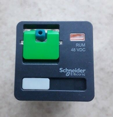 Schneider Electric 11 Pin  Relay 3CO 10A 48VDC MPN: RUMC31ED