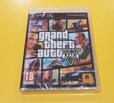 GTA 5 Grand Theft Auto V GIOCO PS3 IN ITALIANO NUOVO SIGILLATO