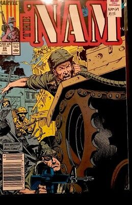 Marvel Comics The NAM Number 29 002488521181 1989 The Copper Age