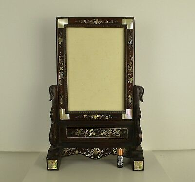 A Top Quality Large Chinese Wooden Table Stand