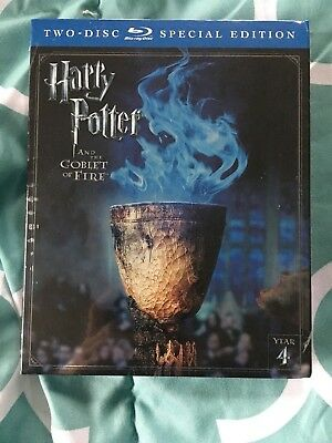 Harry Potter and the Goblet of Fire (2-Disc Set, Blu-ray,Special Edition) NEW