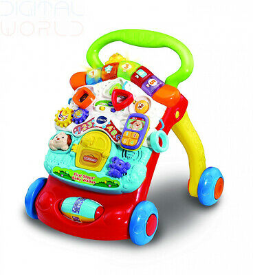 2 In 1 Vtech First Steps Baby Toddler Walker Assistant Kid Toy Activity Centre