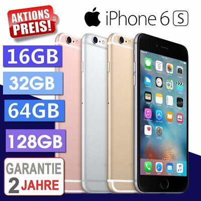 ☀️NEU Apple iPhone 6S 64GB Smartphone Spacegrau / Silber / Gold / Rosegold - WOW