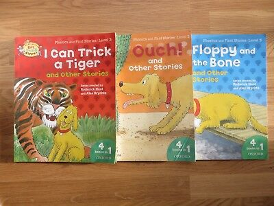 Read with Biff, Chip and Kipper Level 3: Three Volumes of 4 Books in 1