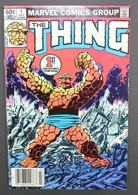 The Thing #1 Marvel 1983 Key 1st Issue
