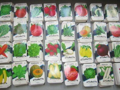 35 different Old Vintage - Vegetable - SEED PACKETS  ,,,............,,,,,