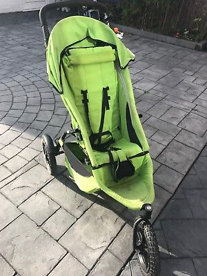 Phil & Teds Sport Double Buggy Green With Accessories, used.