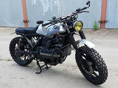BMW K100 Classic Scrambler Cafe Racer Custom Tracker Brat Rat Hack swap PX