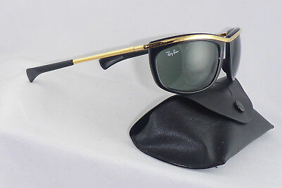 Excellent! Vintage Ray Ban B&L USA Olympian L 1000  Wrap around Biker Harley