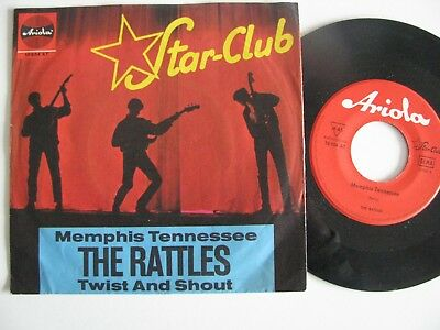 """The Rattles 7"""" Starclub Rote Ariola Memphis Tennessee"""