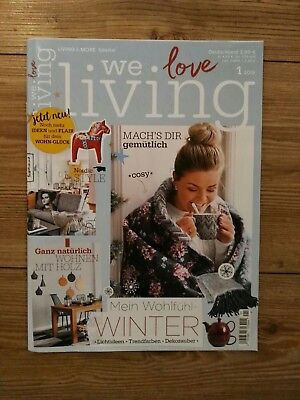 Living & More Special We Love Living Hygge  1 / 2019 Neu !