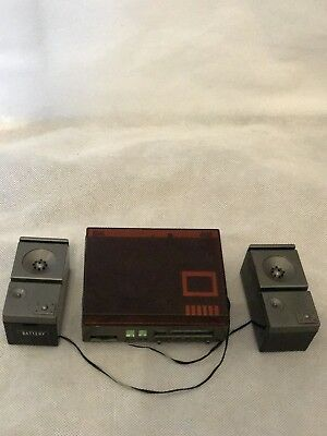 Vintage 1980's Sindy Record Player Plus Speakers And Record