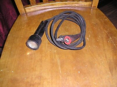 OLD Vintage 12V CIRCUIT TESTER - CT2 - TEST LIGHT - USA 4 foot long cables