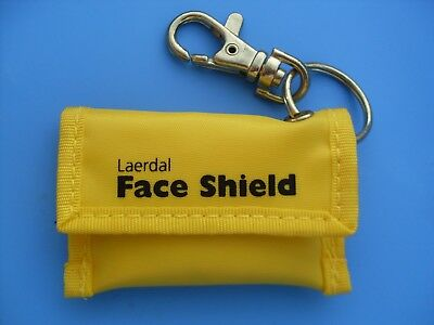 Laerdal CPR face shield KeyRing First Aid Ambulance Police Paramedic Resusci ALS