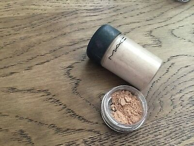 Genuine Mac Glitter and Pigments 0.3g unbranded pot naked free post