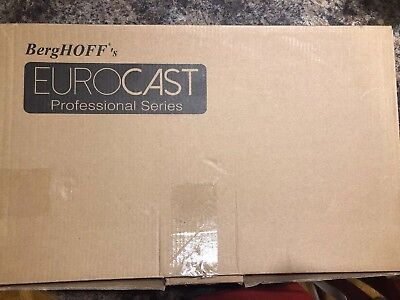 BergHoff's Eurocast 10 Quart Double Roasting Pan Retail $599 New In Box