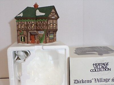 "Dept 56  Dickens' Village Series  "" T.puddlewick Spectacle Shop  "" # 58331 (Euc)"