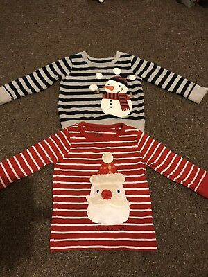 Christmas Jumper Tops Boys 12-18 & 18-24 NEXT